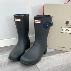 Hunter Boots Dark Slate NWT